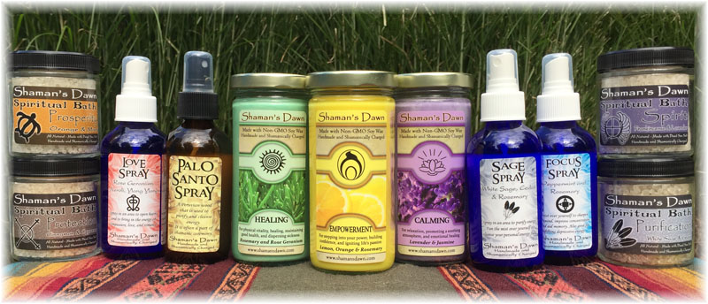 Shamans Dawn Product Line